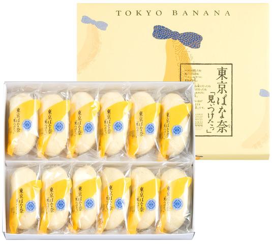 東京香蕉 經典原味蛋糕 12 個裝