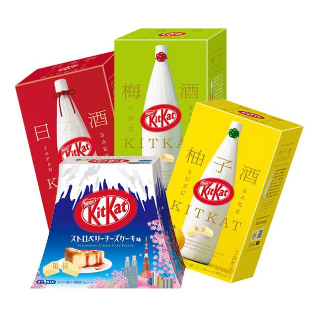 雀巢KITKAT酒系列朱古力