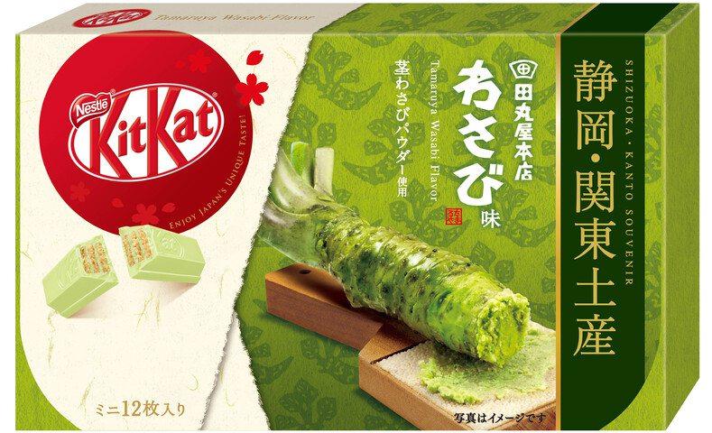 雀巢 KITKAT 迷你型 田丸屋本店芥末味 12片裝