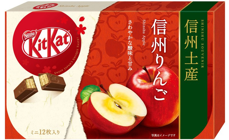 雀巢 KITKAT 迷你型 信州蘋果味 12片裝