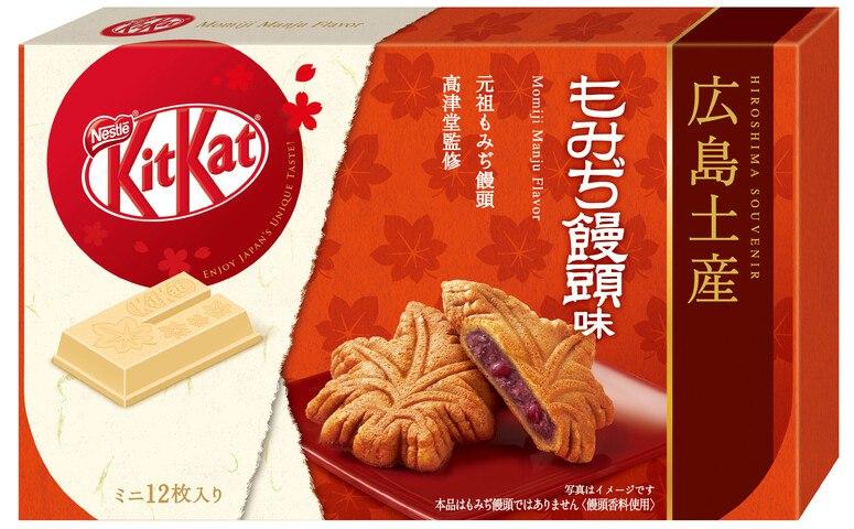 雀巢 KITKAT 迷你型 日式紅葉饅頭味 12片裝