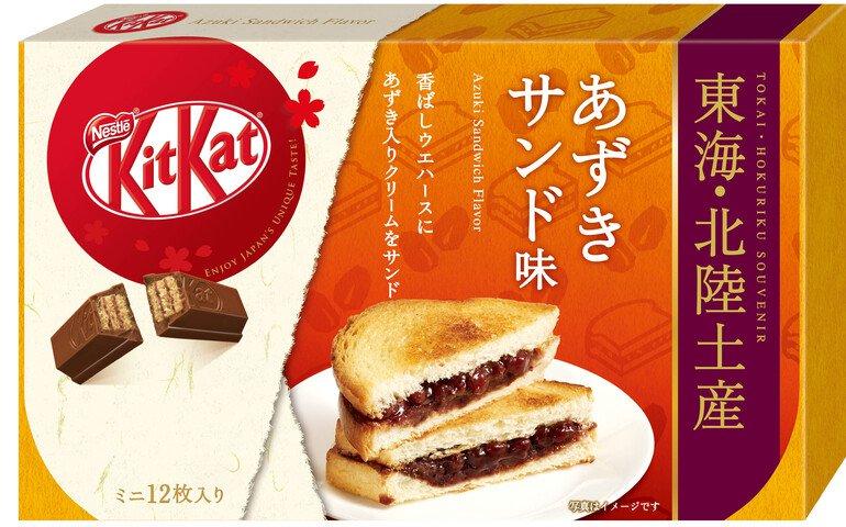 雀巢 KITKAT 迷你型 紅豆夾心味 12片裝