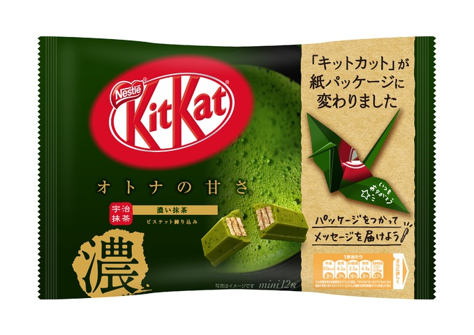 雀巢 KITKAT 迷你型 大人濃郁抹茶風味 12片裝