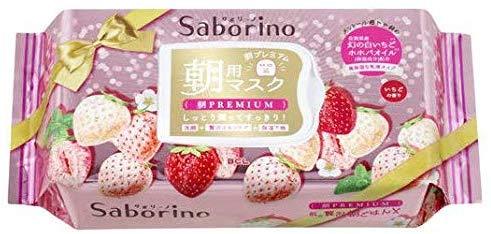 Saborino 白草莓早安面膜 28片裝